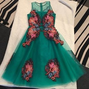 Anthropologie Tulle Dress - Size 2